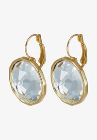 SNÖ of Sweden - NOCTURNE PENDANT EAR CLEAR - Earrings - gold-coloured - 3