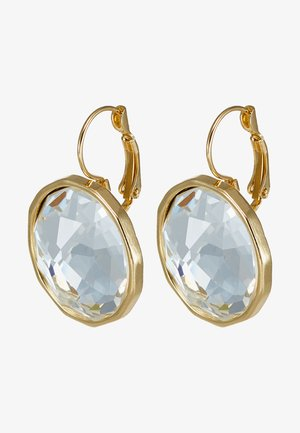 NOCTURNE PENDANT EAR CLEAR - Boucles d'oreilles - gold-coloured
