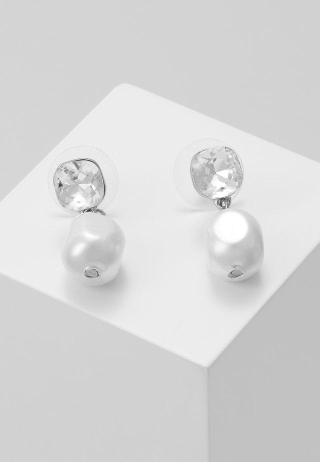 MUSE PENDANT EAR - Kolczyki - silver-coloured