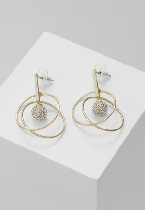 LONG EAR CLEAR  - Earrings - gold-coloured