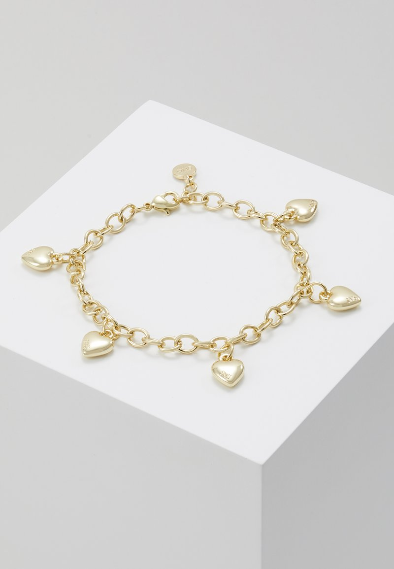 SNÖ of Sweden - SMALL CARD CHARM BRACE - Bracelet - plain gold-coloured
