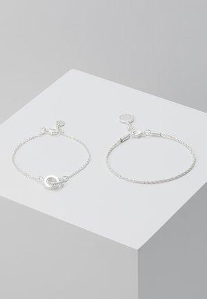 ROYAL BRACE 2 PACK - Armband - silver-coloured