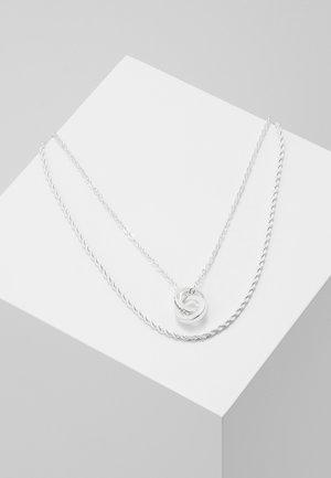 ROYAL NECK SET - Ketting - silver-coloured