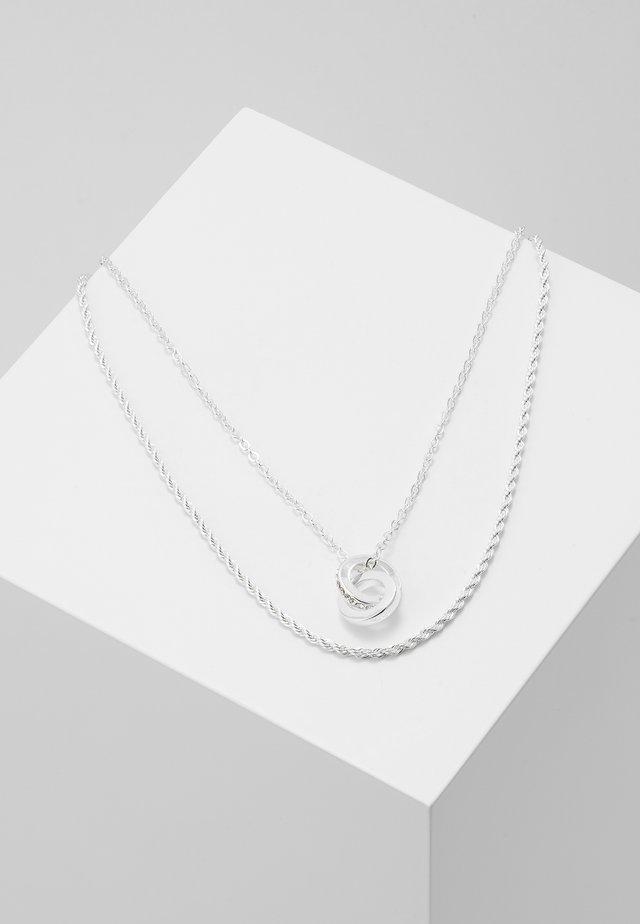 ROYAL NECK SET - Halsband - silver-coloured