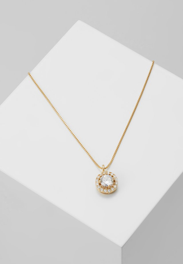 LEX SMALL PENDANT NECK CLEAR - Necklace - gold-coloured