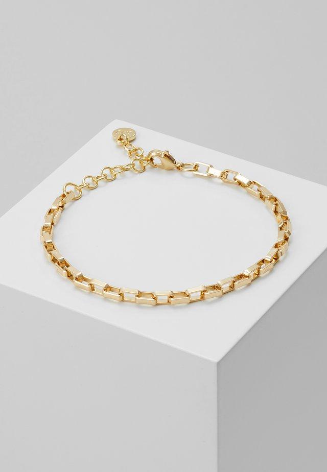 CHASE YOU BRACE SINGLE PLAIN - Armband - gold-colouored