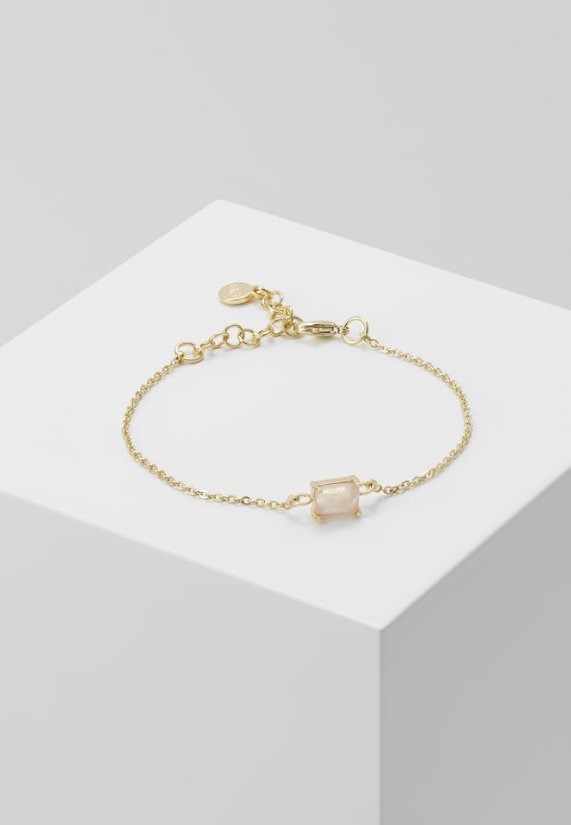 SATIN SMALL CHAIN BRACE  - Bracelet - pink