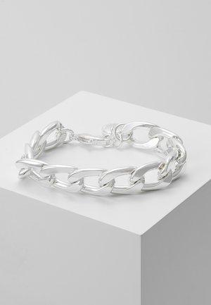 MARIO MIDDLE BRACE PLAIN - Bracciale - silver-coloured