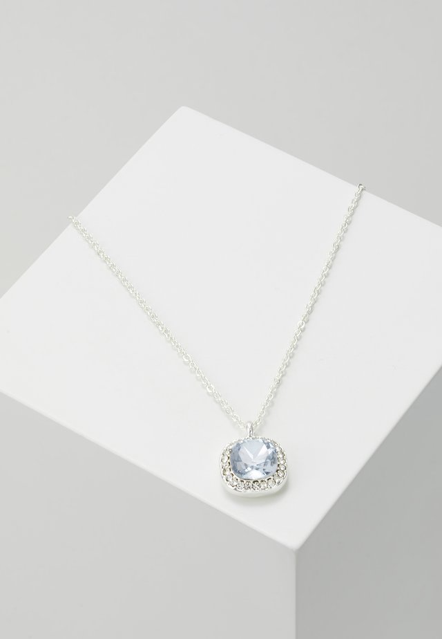 LYONNE PENDANT NECK - Kaulakoru - silver-coloured/light blue