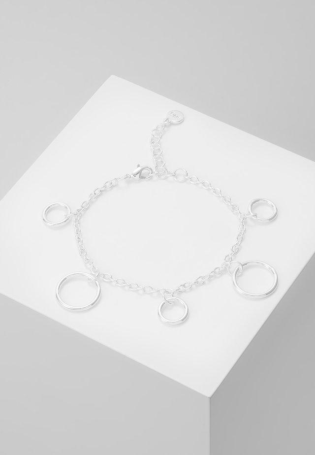 LIO CHARM BRACe - Armband - silver-coloured