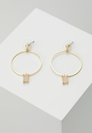 RING PENDANT EAR  - Earrings - pink