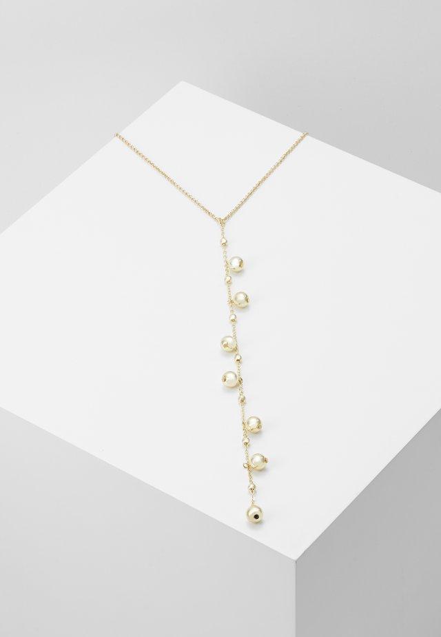 JUNE CHARM PENDANT NECK - Necklace - gold-coloured