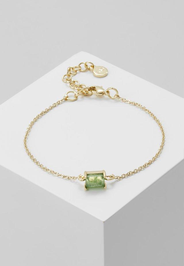 SMALL CHAIN BRACE GREEN - Armband - green