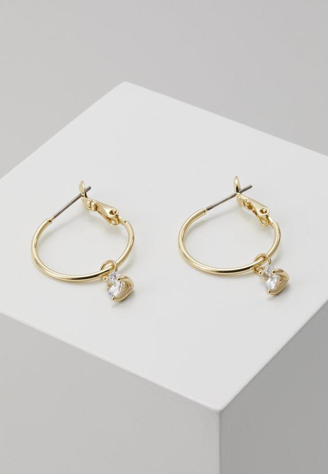 LYNN ROUND EAR - Earrings - gold-coloured