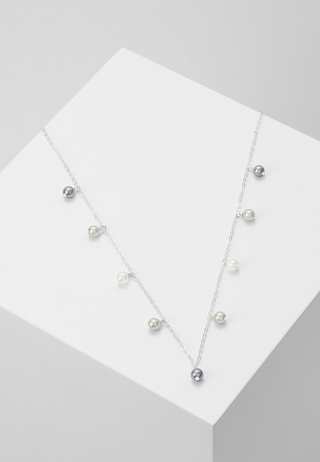 CHARM NECK - Halskæder - silver-coloured