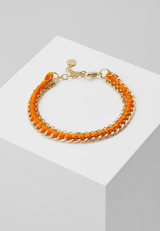 TRAIL BRACE - Bracelet - gold-coloured/orange