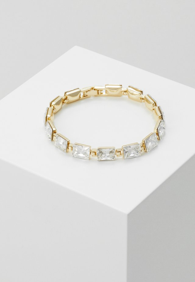 TRUE SMALL STONE BRACE - Bracelet - gold-coloured/clear