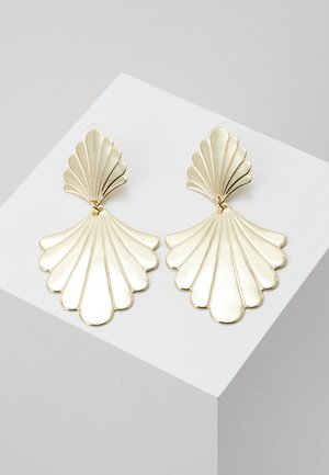 WAY BIG PENDANT EAR - Earrings - gold-coloured