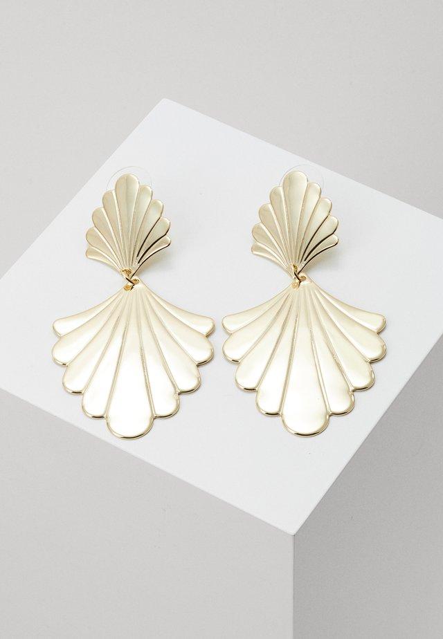 WAY BIG PENDANT EAR - Earrings - gold-coloured