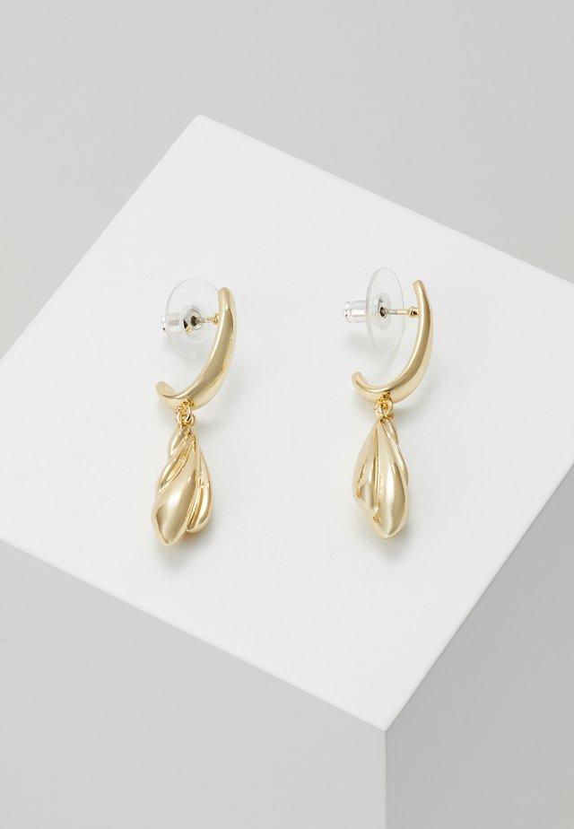 WAY SHORT PENDANT EAR - Oorbellen - gold-coloured