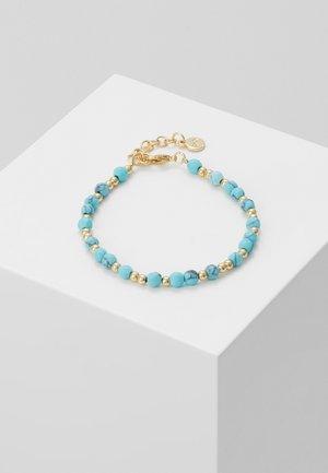 ROC BRACE - Bracelet - gold-coloured/turquoise
