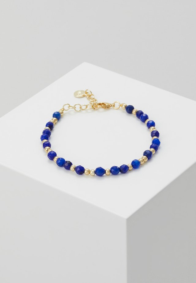 ROC BRACE - Bransoletka - gold-coloured/blue