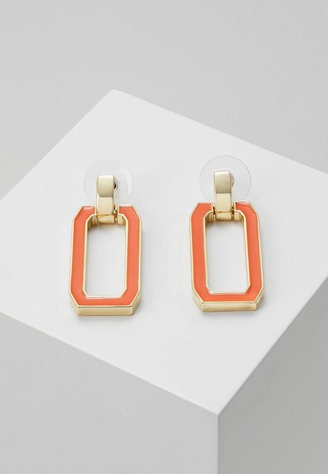 ALLEY EAR - Earrings - orange