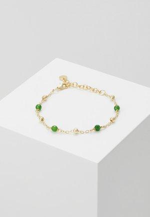 ROC CHAIN BRACE - Rannekoru - gold-coloured/green