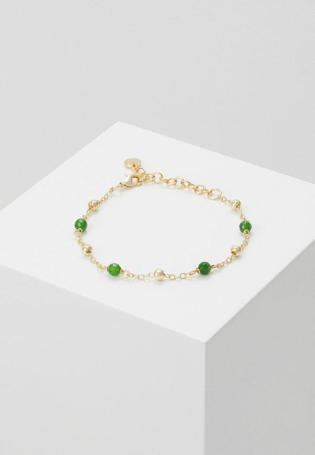 ROC CHAIN BRACE - Bransoletka - gold-coloured/green