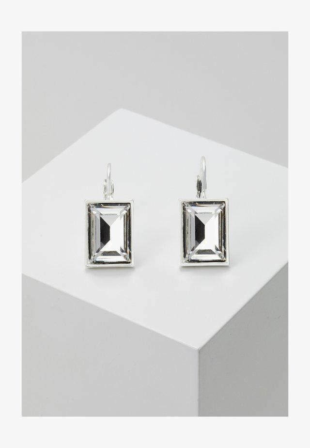 TRUE EAR - Kolczyki - silver-coloured/clear