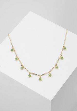 AGATHA CHARM NECK - Collier - green