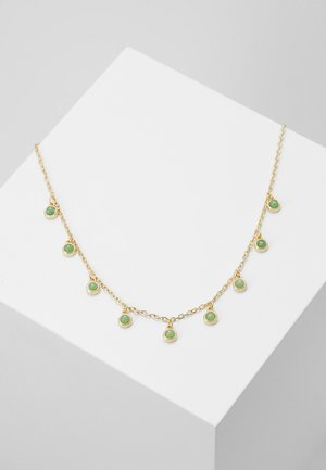 AGATHA CHARM NECK - Necklace - green