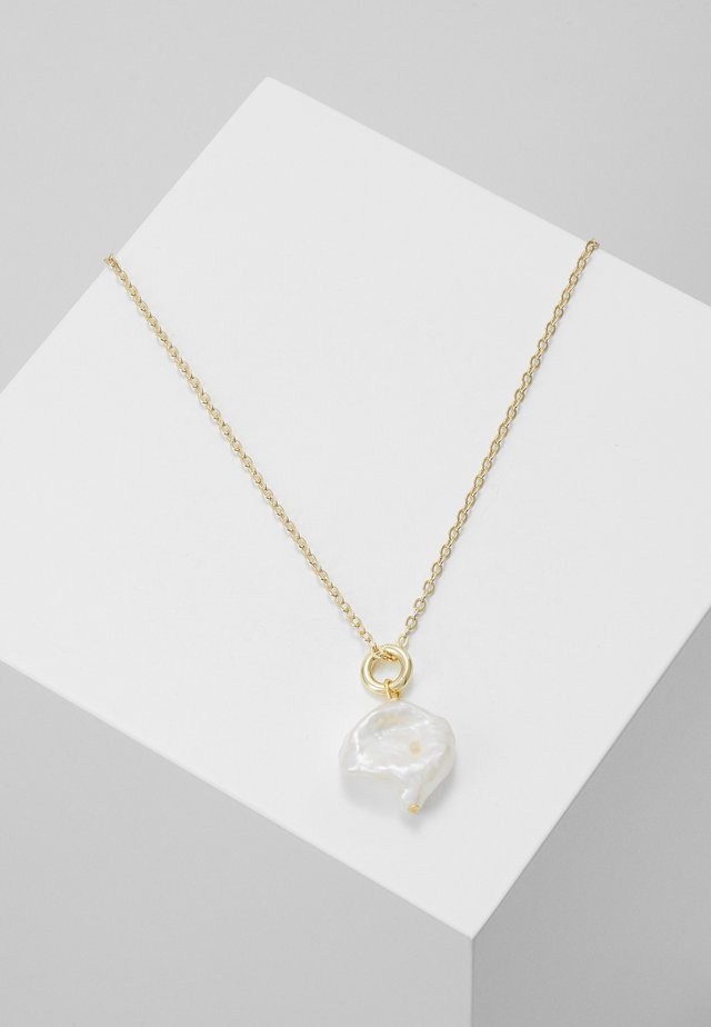 MAXIME PENDANT NECK - Necklace - white