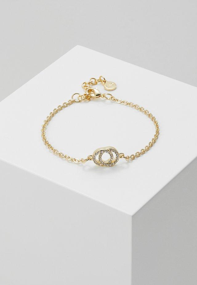 FRANCIS CHAIN BRACE - Armband - gold-coloured/clear