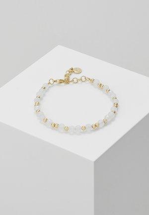 ROC BRACE - Bracelet - gold-coloured/white