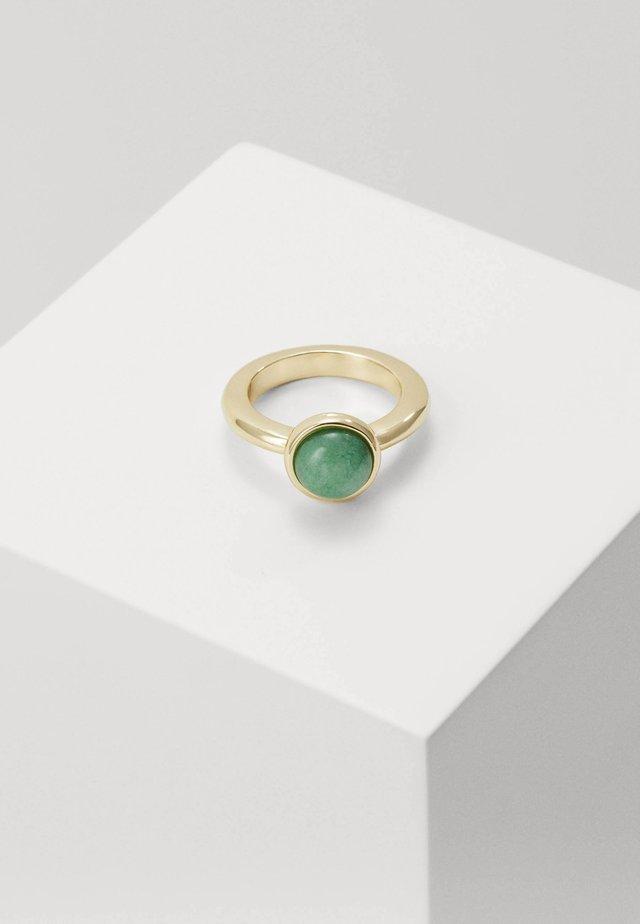 AGATHA - Ring - gold-coloured/green