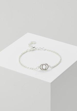 FRANCIS CHAIN BRACE - Náramek - silver-coloured/clear
