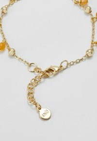 SNÖ of Sweden - ROC CHARM BRACE - Bransoletka - gold-coloured/amber - 1