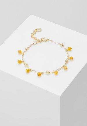 ROC CHARM BRACE - Bracelet - gold-coloured/amber