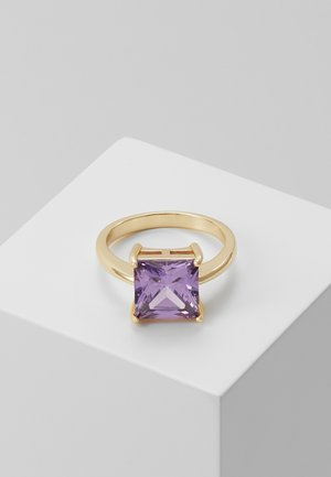 LADY SQUARE RING - Ring - purple