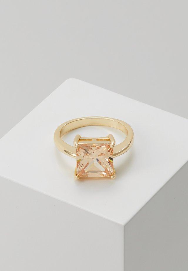 LADY SQUARE RING - Ring - champange