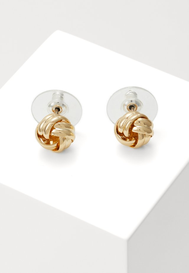 CLAIRE KNOT SMALL - Korvakorut - gold-coloured