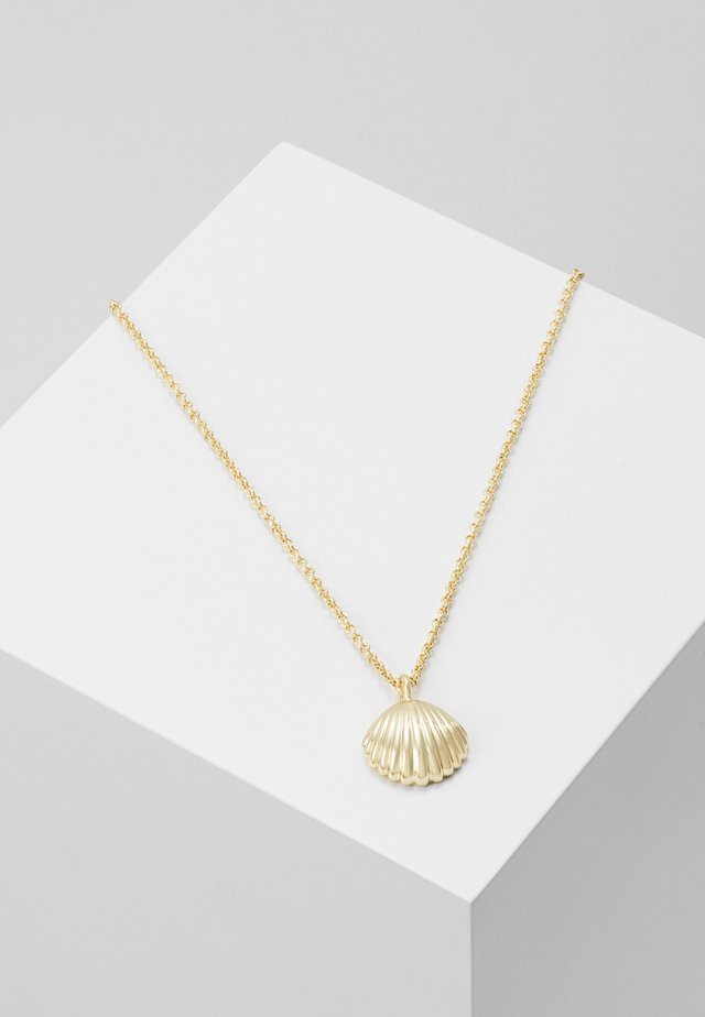 MINNA PENDANT NECK SHELL - Necklace - gold-coloured