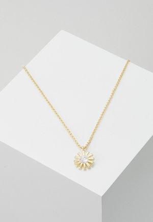 MINNA PENDANT NECK FLOWER - Necklace - golod-coloured/clear