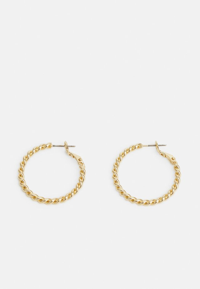 WAY EAR PLAIN - Earrings - gold-coloured