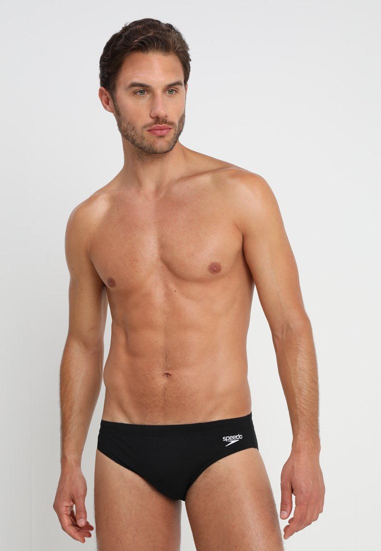 Speedo - ENDURANCE BRIEF - Badehose Slip - black