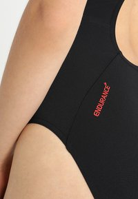 Speedo - BOOM - Swimsuit - black/lava red - 5