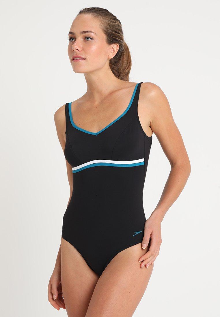 Speedo - CONTOURLUXE - Plavky - black/blue