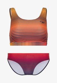 Speedo - SET - Bikinier - true navy/orange - 5