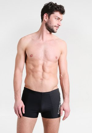 GALA - Swimming trunks - black/white